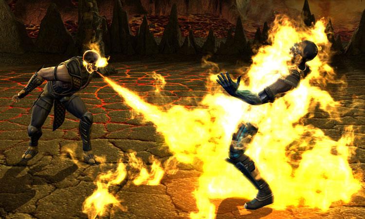 Mortal Kombat Game Screenshot
